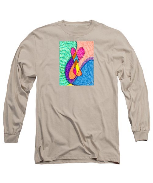 Inner Heart - V Long Sleeve T-Shirt