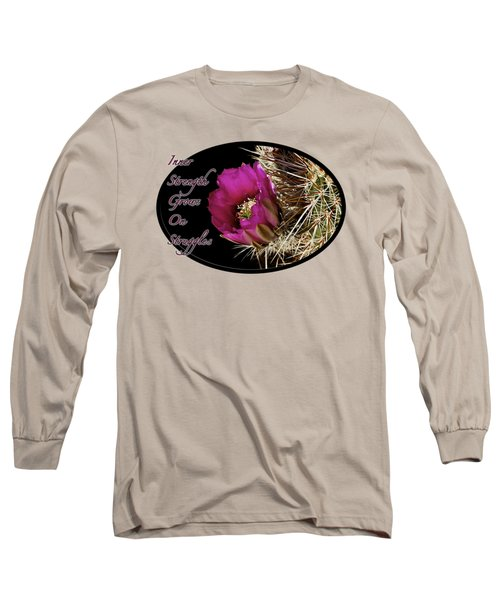 Inner Strength Long Sleeve T-Shirt by Phyllis Denton