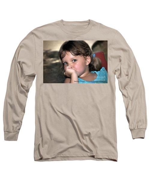 Innocense Long Sleeve T-Shirt by Diana Mary Sharpton