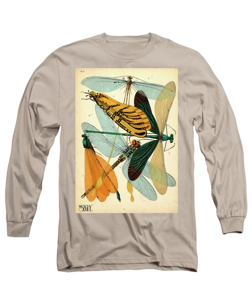 Insects, Plate-9 Long Sleeve T-Shirt