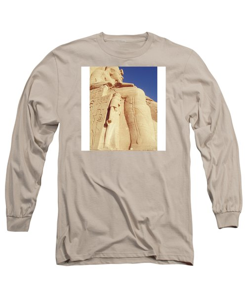 Egytian Monument Long Sleeve T-Shirt by Patsy Jawo