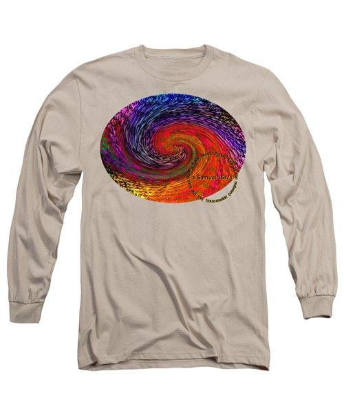 Inspirational - God Looks Upon The Heart Long Sleeve T-Shirt
