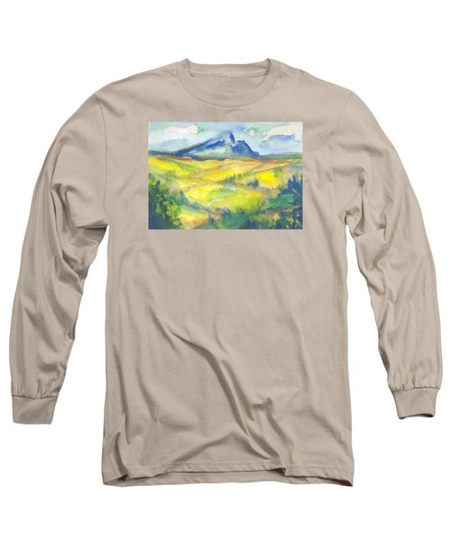 Inspired By Cezanne Long Sleeve T-Shirt by Connie Schaertl