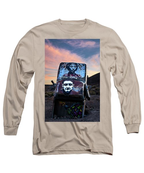 Long Sleeve T-Shirt featuring the photograph International Car Forest Of The Last Church 1 by James Sage