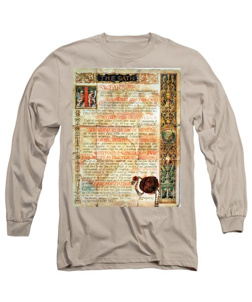 International Code Of Medical Ethics Long Sleeve T-Shirt