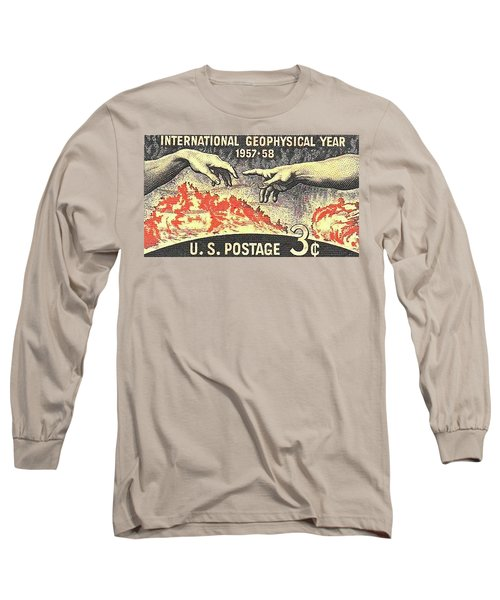 International Geophysical Year Stamp Long Sleeve T-Shirt