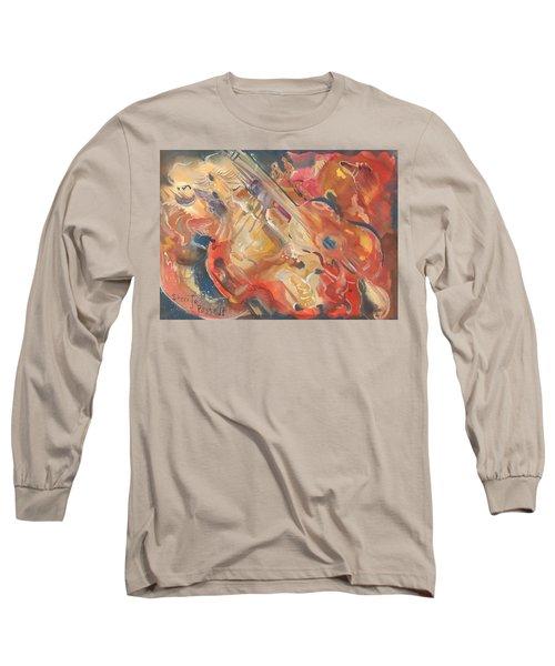 Intimate Guitar Long Sleeve T-Shirt