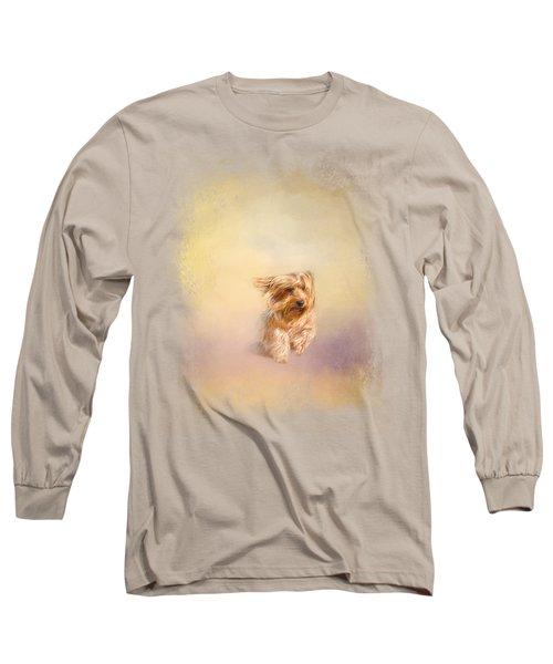 Into The Wind Long Sleeve T-Shirt by Jai Johnson