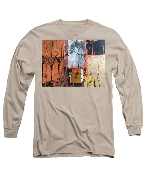Into The Woods Long Sleeve T-Shirt by Pat Purdy