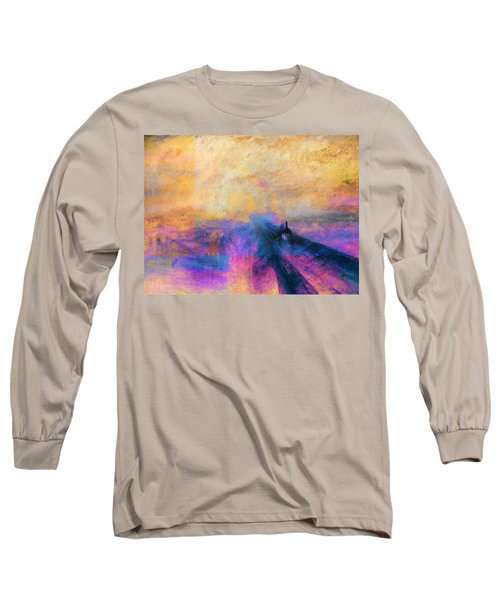 Inv Blend 12 Turner Long Sleeve T-Shirt by David Bridburg