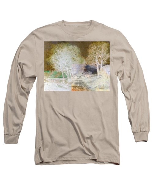 Inv Blend 4 Sisley Long Sleeve T-Shirt by David Bridburg