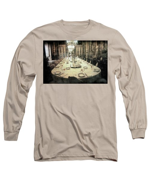 Invitation To Dinner At The Castle... Long Sleeve T-Shirt