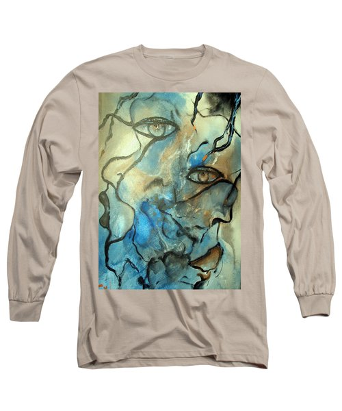 Long Sleeve T-Shirt featuring the painting Inward Vision by Raymond Doward