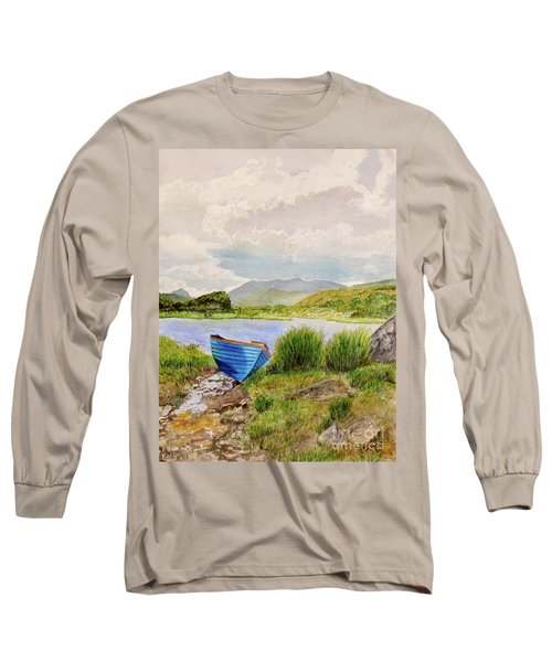 Long Sleeve T-Shirt featuring the painting Ireland by Carol Flagg