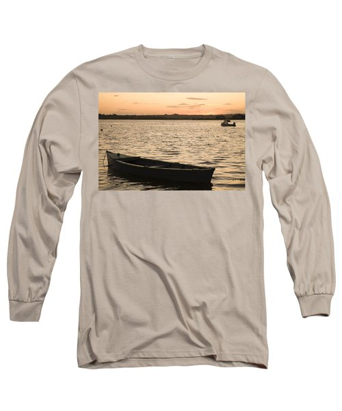 Long Sleeve T-Shirt featuring the photograph Irish Dusk by Ian Middleton