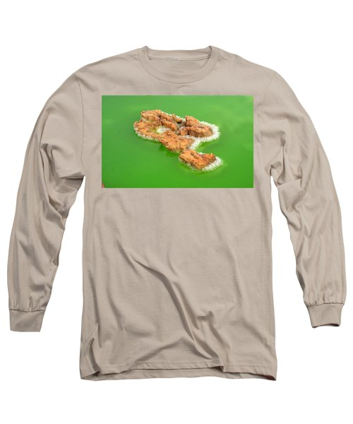 Dallol #4 Long Sleeve T-Shirt by Aidan Moran
