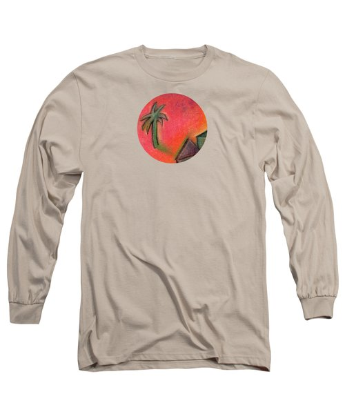 Island Life 2 Long Sleeve T-Shirt by Valerie Reeves