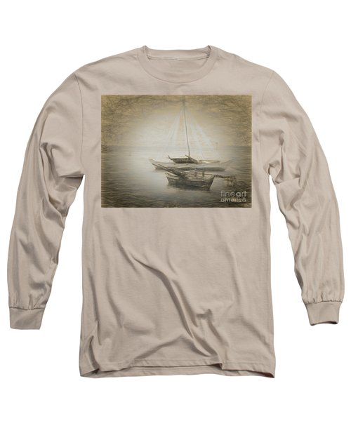 Island Sketches V Long Sleeve T-Shirt