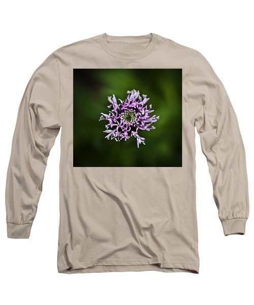 Isolated Flower Long Sleeve T-Shirt