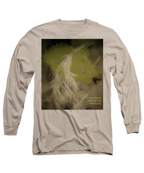It Is What It Is Long Sleeve T-Shirt