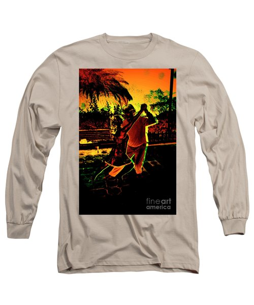 Long Sleeve T-Shirt featuring the photograph It Takes Two To Tango by Al Bourassa