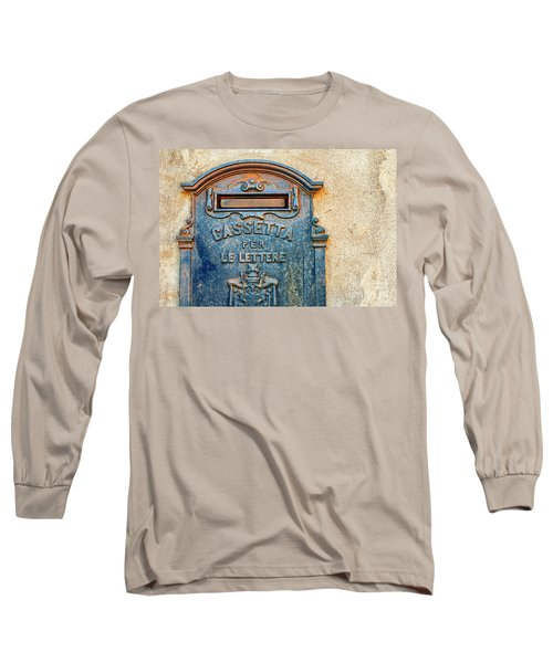 Italian Mailbox Long Sleeve T-Shirt