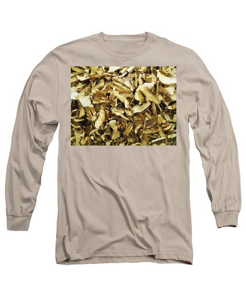 Italian Market Dried Mushrooms Long Sleeve T-Shirt