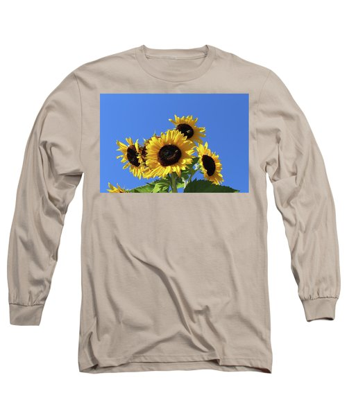 It's A Blue Sky Day Long Sleeve T-Shirt