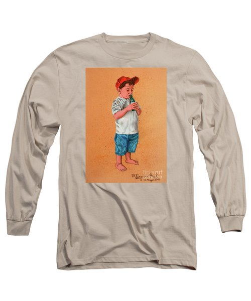 It's A Hot Day - Es Un Dia Caliente Long Sleeve T-Shirt