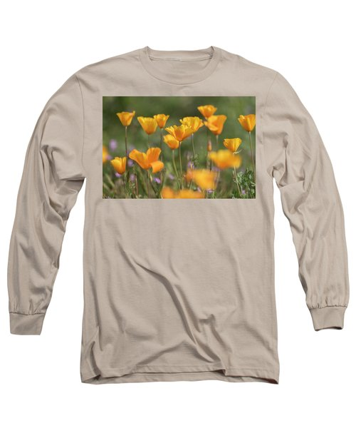 Long Sleeve T-Shirt featuring the photograph It's A Poppy Thing  by Saija Lehtonen