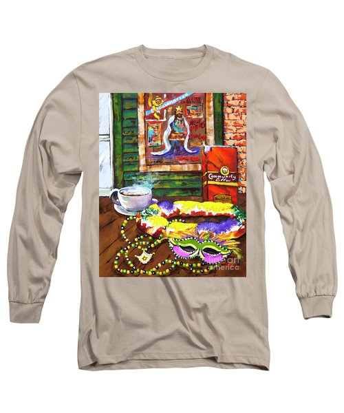 It's Mardi Gras Time Long Sleeve T-Shirt