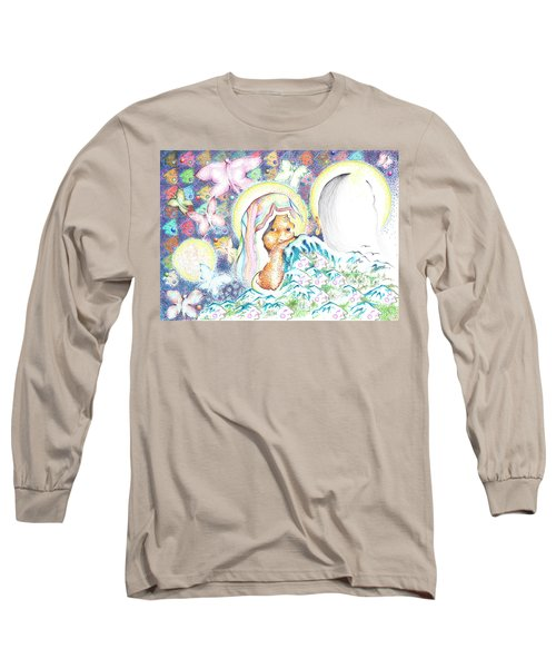 Itzpapalotl Y La Joven Virgin Long Sleeve T-Shirt