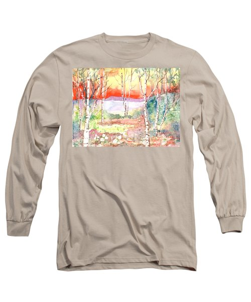 Long Sleeve T-Shirt featuring the painting Ivan's Eve by Renate Nadi Wesley