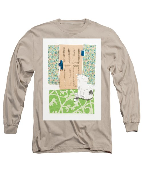Ive Got Places To Go People To See Long Sleeve T-Shirt by Leela Payne
