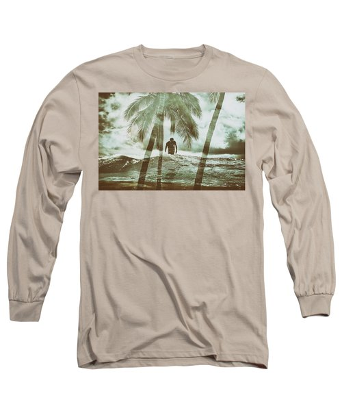 Izzy Jive And Palms Long Sleeve T-Shirt