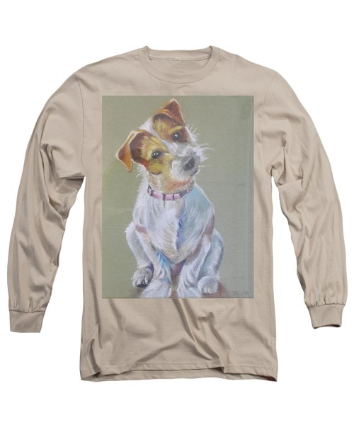 Jack Russell Watching You Long Sleeve T-Shirt
