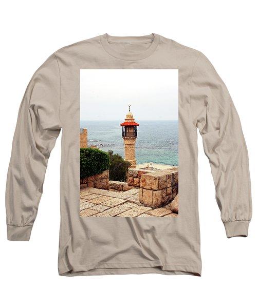 Jaffa Israel Long Sleeve T-Shirt by Denise Moore