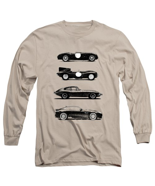 Evolution Of The Cat Long Sleeve T-Shirt