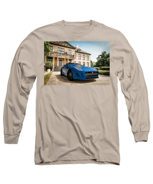 Jaguar F-type - Blue - Villa Long Sleeve T-Shirt