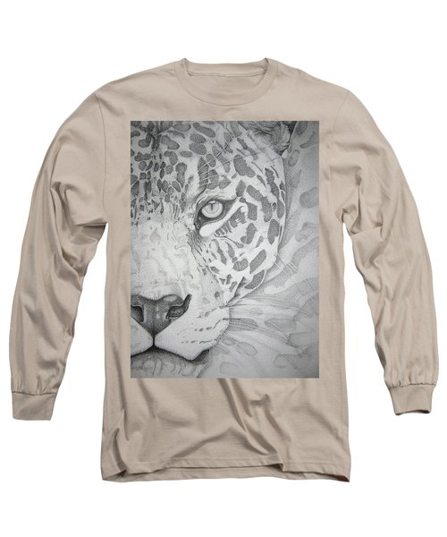 Jaguar Pointillism Long Sleeve T-Shirt