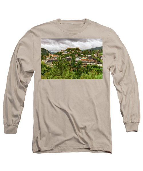 Jajce, Bosnia And Herzegovina Long Sleeve T-Shirt by Elenarts - Elena Duvernay photo
