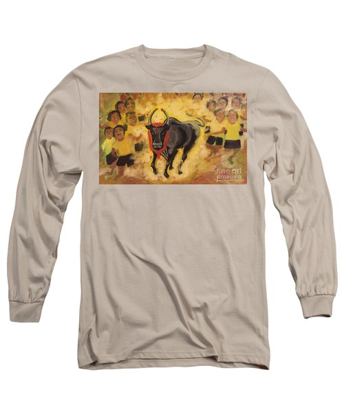 Jallikattu Long Sleeve T-Shirt