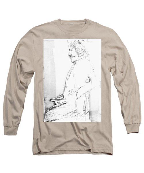 James Whistler's Portrait Long Sleeve T-Shirt