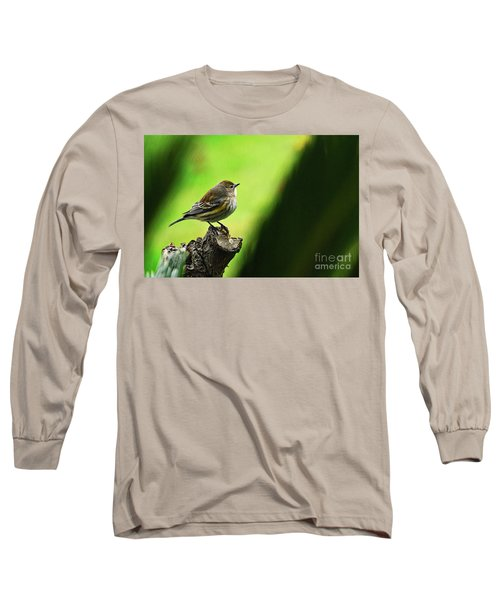 Long Sleeve T-Shirt featuring the photograph January Migration by Debby Pueschel