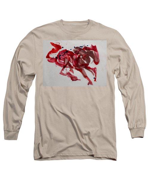 Japanese Horse Long Sleeve T-Shirt