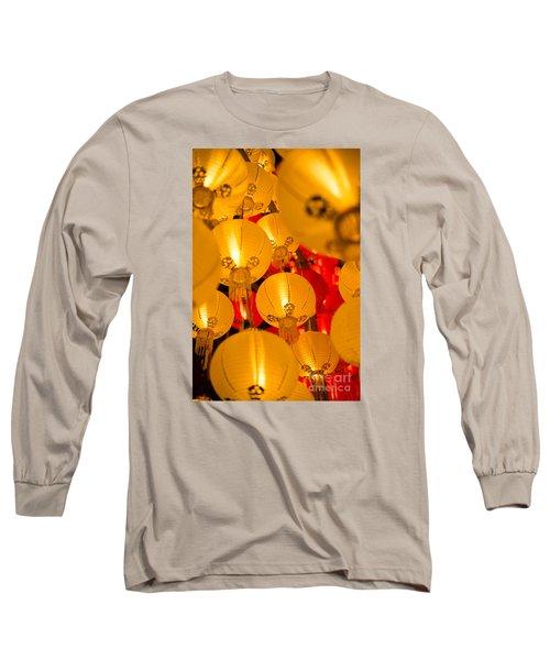 Japanese Lantern 3 Long Sleeve T-Shirt