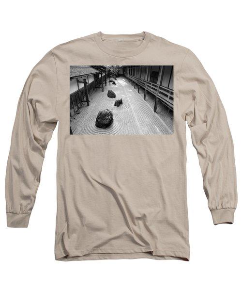 Japanese Zen Garden Long Sleeve T-Shirt