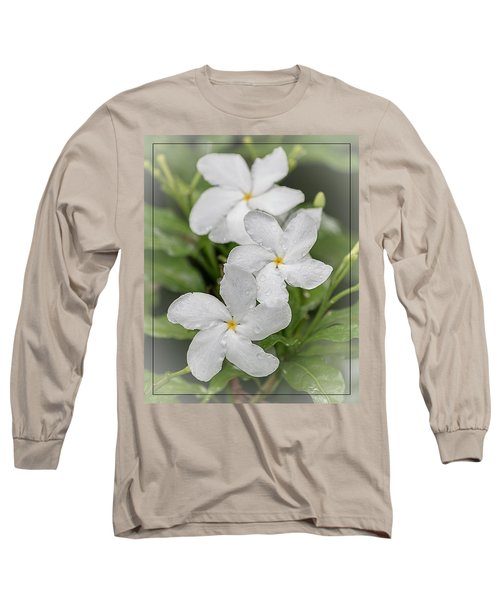 Jasmine In The Rain Long Sleeve T-Shirt
