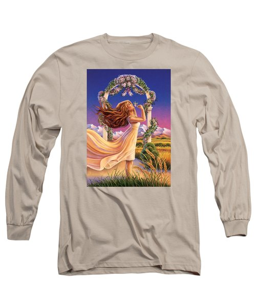 Jasmine - Sensual Pleasure Long Sleeve T-Shirt