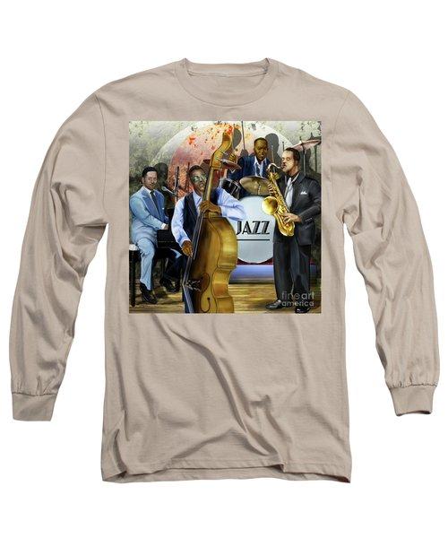 Jazz Jazz Jazz Long Sleeve T-Shirt